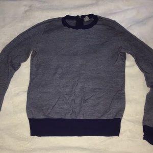Blue/white sweater